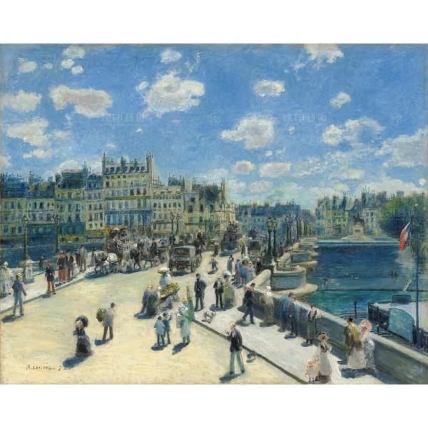 Pont Neuf, Paris, Auguste Renoir, Giclée