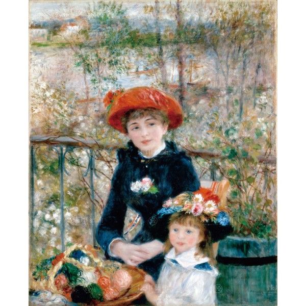 Two Sisters (On the Terrace), Auguste Renoir, Giclée
