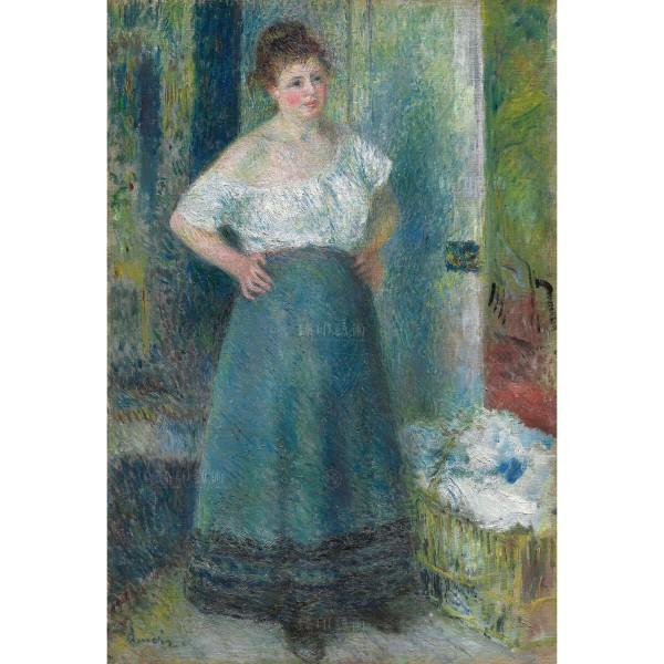 The Laundress, Auguste Renoir, Giclée
