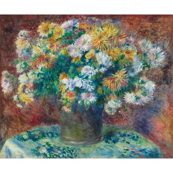 Chrysanthemums, Auguste Renoir, Giclée