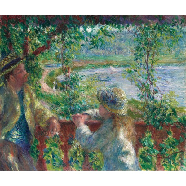 Near the Lake, Auguste Renoir, Giclée