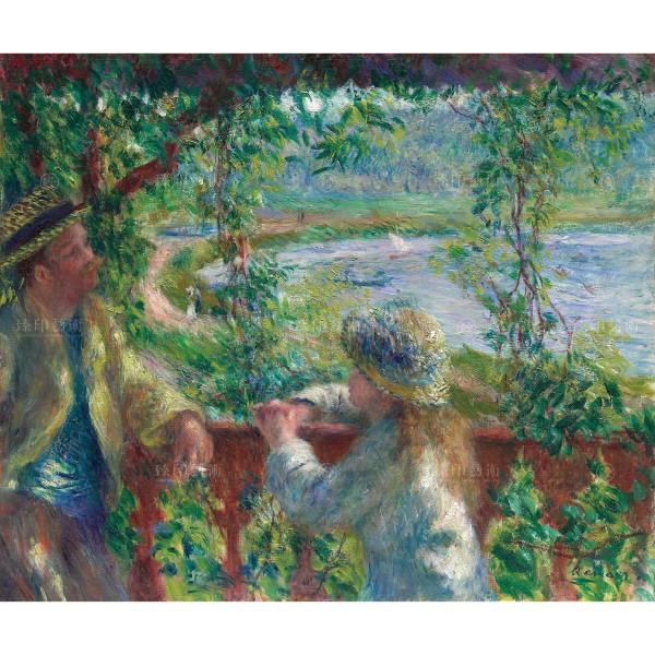 Near the Lake, Auguste Renoir, Giclée