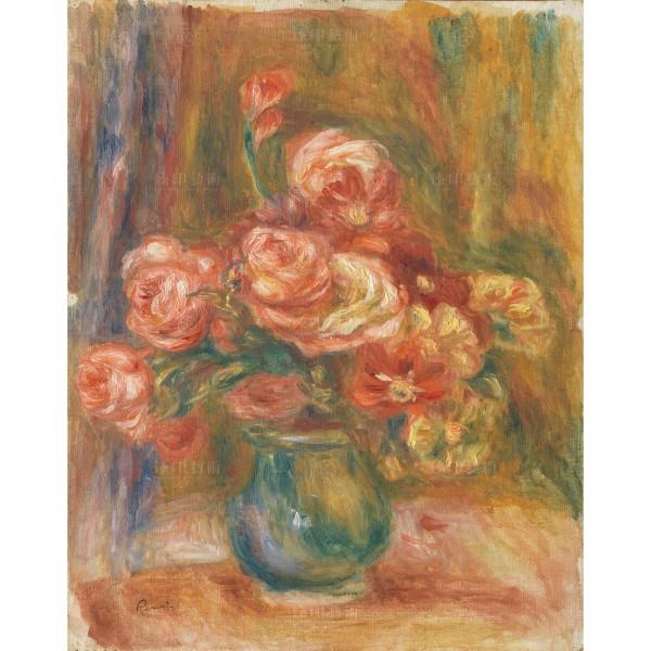 Vase of Roses, Auguste Renoir, Giclée