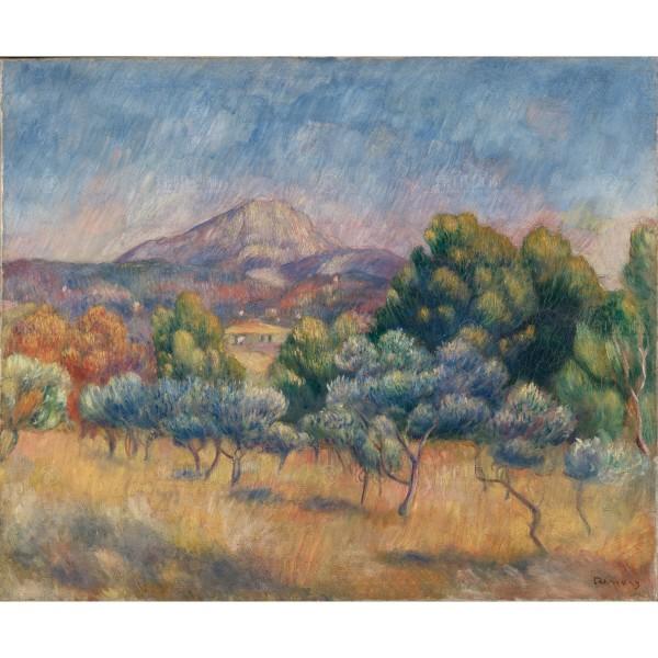 Mount of Sainte-Victoire, Auguste Renoir, Giclée
