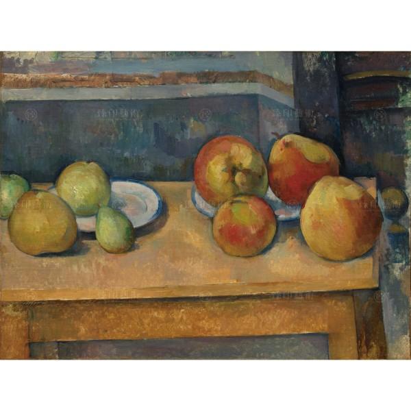 Still Life with Apples and Pears, Paul Cézanne, Giclée
