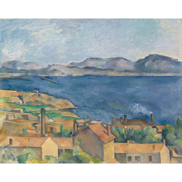 The Bay of Marseille, Seen from L'Estaque, Paul Cézanne, Giclée