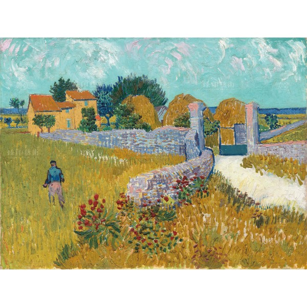 Farmhouse in Provence, Vincent Van Gogh, Giclée