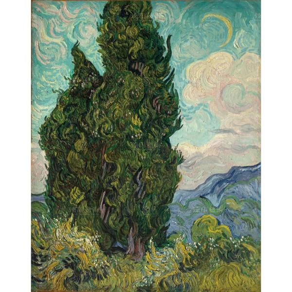 Cypresses, Vincent Van Gogh, Giclée