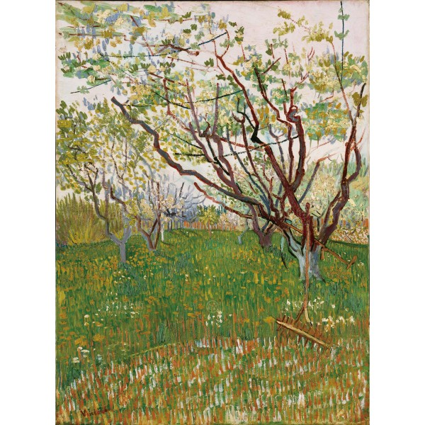 The Flowering Orchard, Vincent Van Gogh, Giclée