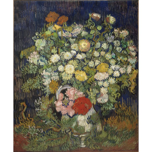 Bouquet of Flowers in a Vase, Vincent Van Gogh, Giclée