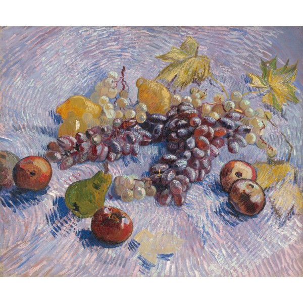 Grapes, Lemons, Pears, and Apples, Vincent Van Gogh, Giclée