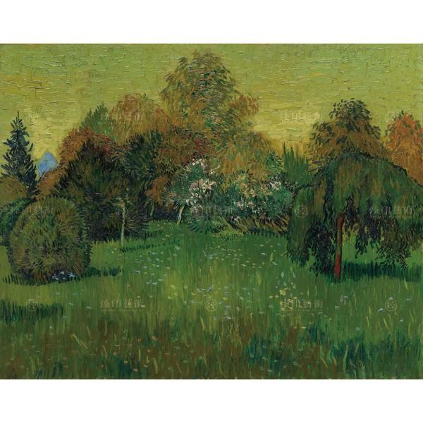 The Poet's Garden, Vincent Van Gogh, Giclée