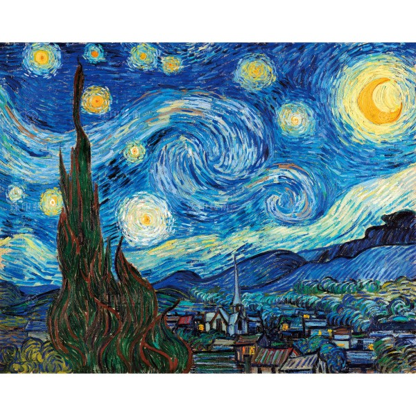 The Starry Night, Vincent Van Gogh, Giclée